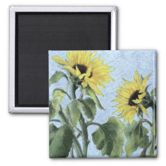 Sunflowers 1996 magnet