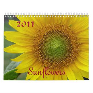 Sunflowers, 2011 wall calendar