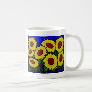 Sunflowers 24 by Piliero Coffee Mug