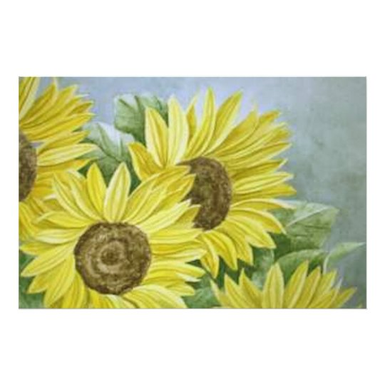 Sunflowers 3 poster