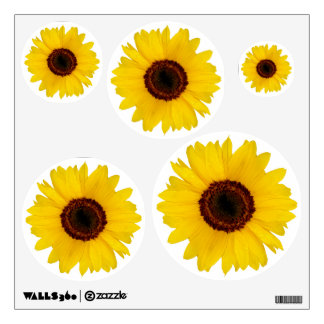 Sunflowers 5 wall graphic