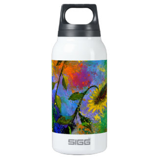 sunflowers 7741.jpg insulated water bottle