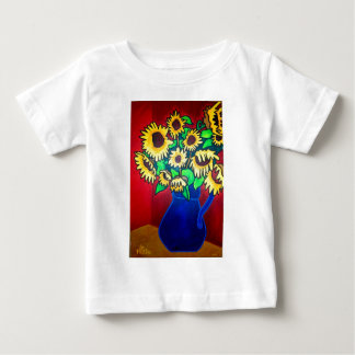 Sunflowers 96 by Piliero Baby T-Shirt