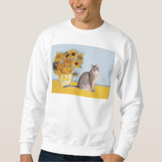 Sunflowers - Abyssinian (blue 21) Sweatshirt