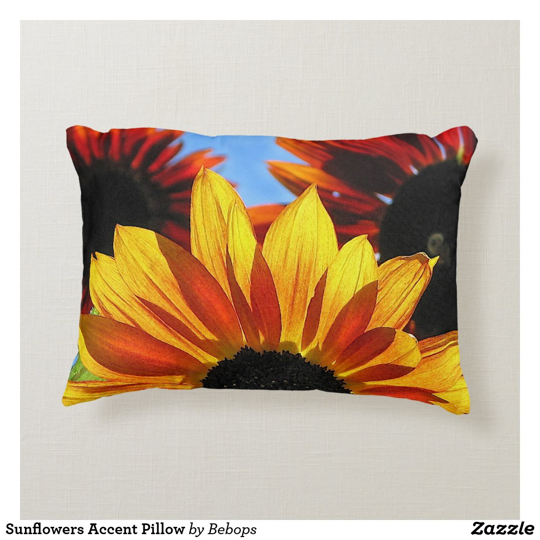 Sunflowers Accent Pillow
