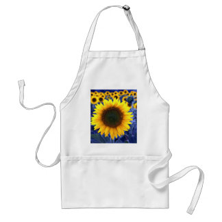 Sunflowers Adult Apron