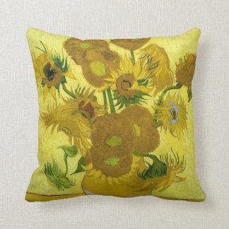 Decorative Pillows With Sunflowers : Sunflower Pillows - Decorative & Throw Pillows Zazzle