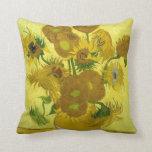 Sunflowers American MoJo Pillow