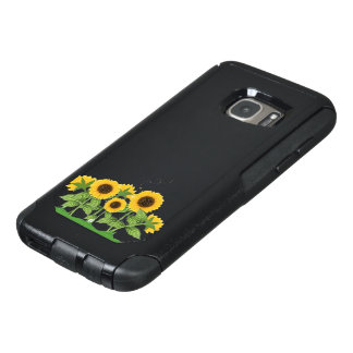 Sunflowers and a Bee OtterBox Samsung Galaxy S7 Case
