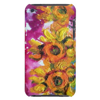 SUNFLOWERS AND BLACK ROOSTER particular iPod Case-Mate Case