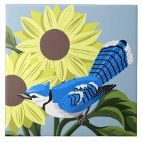 wildlife ceramic tiles