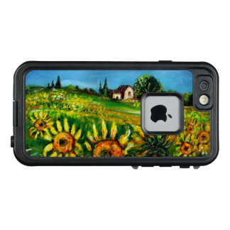 SUNFLOWERS AND COUNTRYSIDE IN TUSCANY LifeProof FRĒ iPhone 6/6S CASE