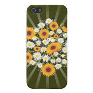 Sunflowers and Daisies Covers For iPhone 5