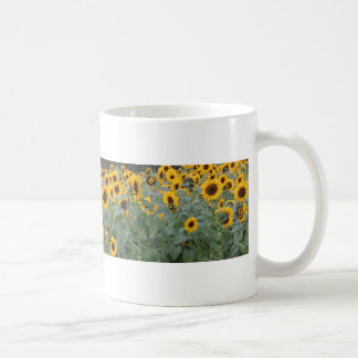 Sunflowers and Eucalyptus Coffee Mug