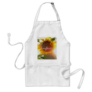 Sunflowers and Light Adult Apron