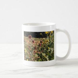 Sunflowers and Pumpkins Coffee Mug