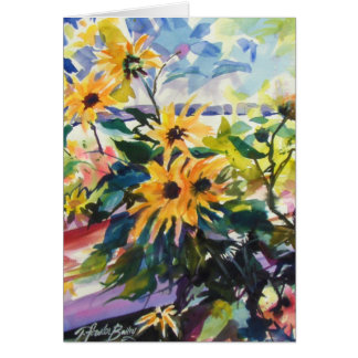 """""""Sunflowers and Shadows"""" Cards"""