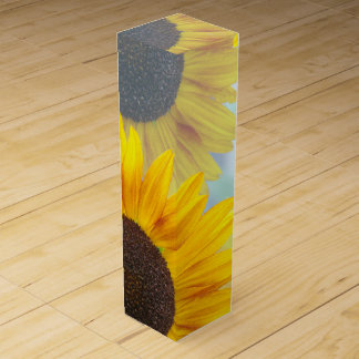 Sunflowers and Wine Wine Box