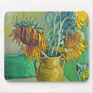 Sunflowers - Antonio Sicurezza Mouse Pad