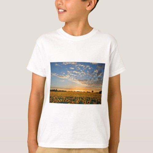 Sunflowers at Sunset T-Shirt