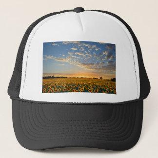 Sunflowers at Sunset Trucker Hat