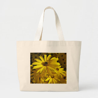 Sunflowers at the Zoo Canvas Bags