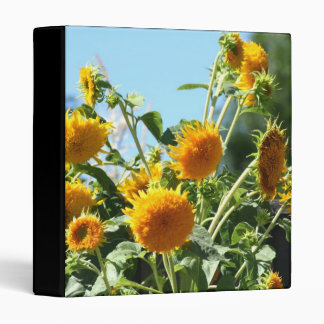Sunflowers Avery Binder