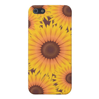 Sunflowers Bead Case For iPhone 5