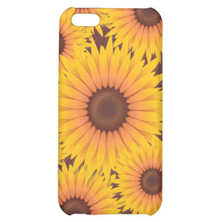 Sunflowers Bead Case For iPhone 5C
