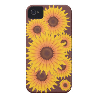 Sunflowers Bead Case-Mate iPhone 4 Cases