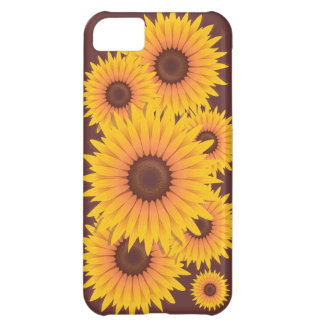 Sunflowers Bead Cover For iPhone 5C