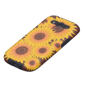 Sunflowers Bead Samsung Galaxy S3 Cases