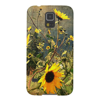 Sunflowers Before The Storm Clouds Galaxy S5 Case