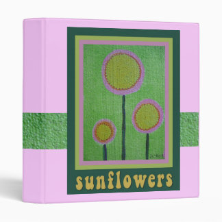 Sunflowers Binder