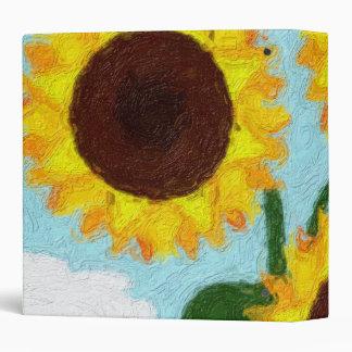 Sunflowers Binder