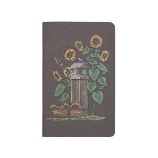 Sunflowers Birdfeeder & Blue Bird Journal