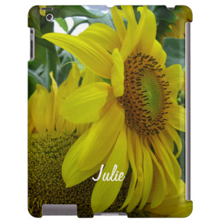 Sunflowers Bunch-iPad Case