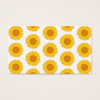 Sunflowers. Business Card