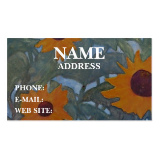 Sunflowers - Business Card