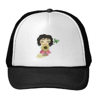 Sunflowers & Butterflies Trucker Hat