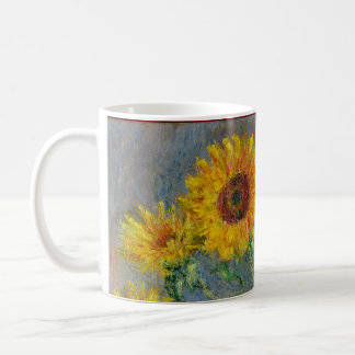 Sunflowers by Claude Monet Coffee Mug