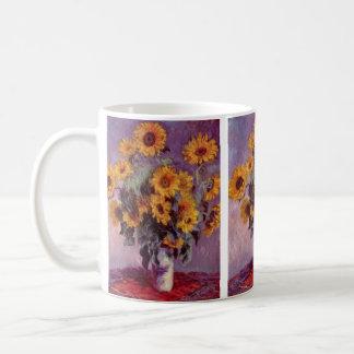 Sunflowers by Claude Monet Coffee Mug