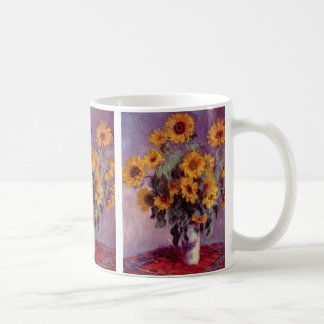 Sunflowers by Claude Monet Mug