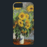 "Sunflowers by Monet iPhone 8/7 Case<br><div class=""desc"">Impressionist painting &quot;Sunflowers&quot; from 1881 by Claude Monet.</div>"