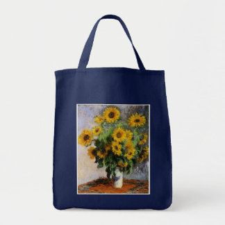 Sunflowers by Monet Tote Bag
