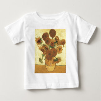 Sunflowers by Van Gogh Baby T-Shirt
