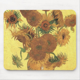 Sunflowers by Van Gogh Mouse Pad