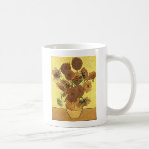 Sunflowers by Van Gogh Coffee Mugs