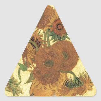 Sunflowers by Van Gogh Stickers