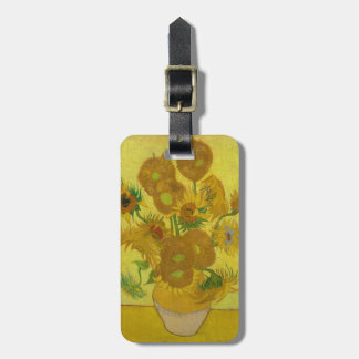 Sunflowers by Vincent van Gogh Bag Tag